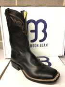 "Anderson Bean ""Black Out"" 11"" Wide Square toe *CLOSEOUT*"