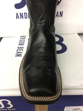 "Anderson Bean ""Black Out"" 11"" Wide Square toe"