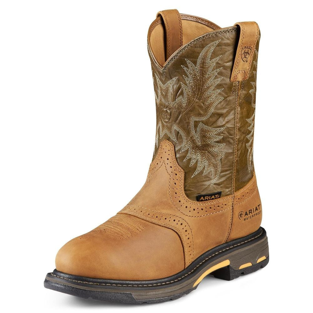 "Ariat 10001191 Workhog Ct 10"" Aged Bark Round toe"
