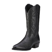 "Ariat 10002218 Heritage Western 13"" Black Deer Tan R Toe"