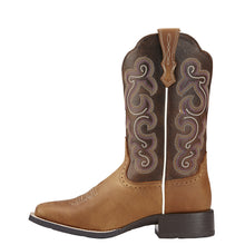 "Ariat 10006304 Quickdraw 11"" Badlands Brown Wide Square toe"
