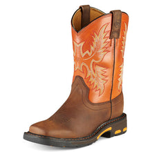 "Ariat 10007837 Workhog 8"" Dark Earth Wide Square toe"
