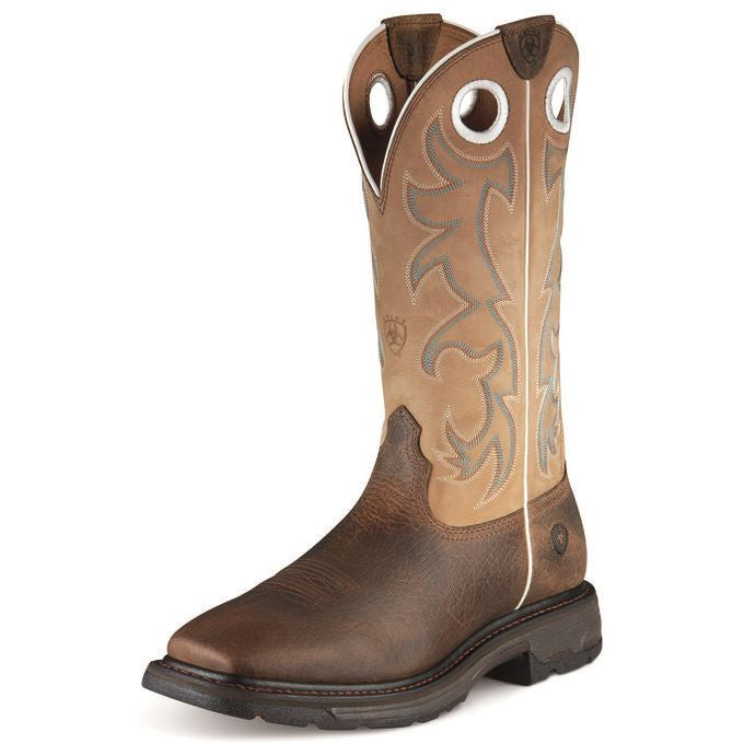 Ariat 10008205 Workhog Tall Steel Toe 13