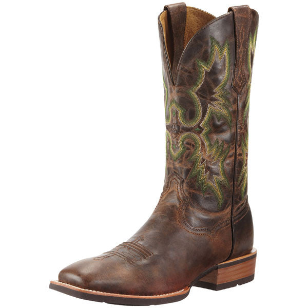 "Ariat 10010285 Tombstone 13"" Weathered Chestnut Wide Square toe *CLOSEOUT*"