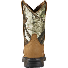 "Ariat 10011934 Workhog Camo 8"" Aged Bark Wide Square toe"