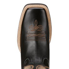 Women's Ariat 10018529 Round Up Limousin Black Wide Square Toe