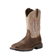 "Ariat 10018556 Workhog Mesteno II 11"" Rustic Brown Wide Square toe *CLOSEOUT*"