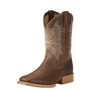 Ariat 10021595 Children's Cowhand Adobe Tan Wide Square toe *CLOSEOUT*