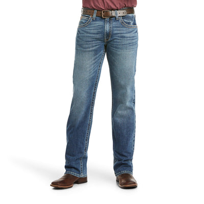 Ariat 10021879 MEN'S M5 Slim Stretch Stillwell Stackable Straight Leg Jean