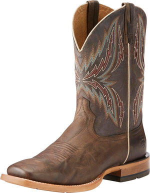 "Ariat 10025069 ARENA REBOUND 11"" BRANDING BROWN/DESERT WIDE SQUARE TOE *CLOSEOUT*"