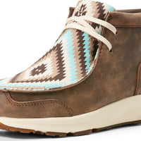 Women's Ariat 10027347 SPITFIRE VINTG BOMBR/TURQ TRIBAL