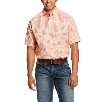 Ariat 10030577 MEN'S FISHERS CLASSIC STRETCH SHORT SLEEVE MULTI SHIRT