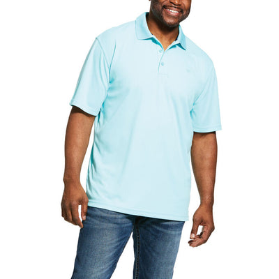 Ariat 10030822 Men's Miami Aqua Tek Polo