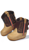 Old West 10030 Infant Tan Pull On