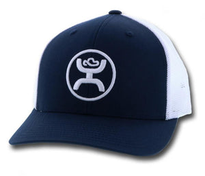 "Hooey 1005T-NV ""O CLASSIC"" NAVY/WHITE CAP"
