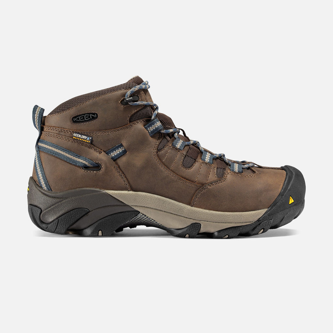 Keen Men's Detroit Mid (Steel Toe) Slate Black Style 1007004