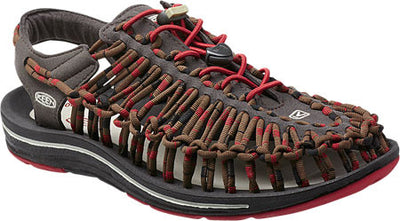 Men's Keen UNEEK Flat Cord Red Dahlia/Raya 1014620 *CLOSEOUT*
