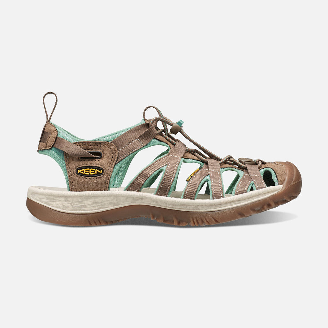 Cheap Sale Keen Whisper Sandal Women Shitake/Malachite