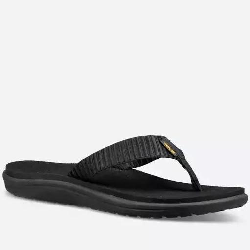 Women's Teva VOYA FLIP BAR STREET BLACK 1019040 *CLOSEOUT*
