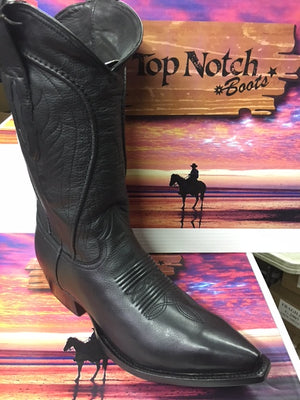 "MEN'S 13"" Black Ranch Hand Snip Toe *Closeout*"