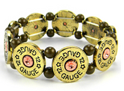 12 Gauge Shotgun Shell Bracelet
