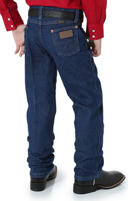 WRANGLER 13MWZBP BOY'S (8-18) PREWASHED COWBOY CUT® ORIGINAL FIT JEAN