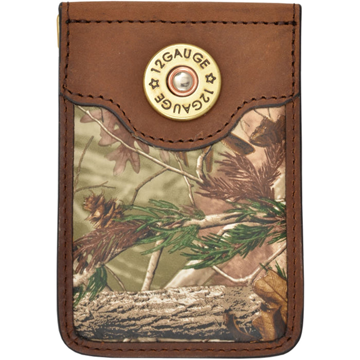 3D BMC312 Badger Brown Outdoor Money Clip
