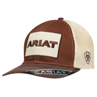 Ariat 1500502 MENS SB LOGO PATCH BROWN