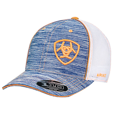 Ariat 1504927 MENS HEATHER FLEXFIT 110 CAP