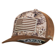 Ariat 15094156 MENS SB DIGITAL CAMO FRONT USA FLAG CAMO