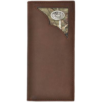 3D BW462 Badger Brown Outdoor Rodeo Wallet