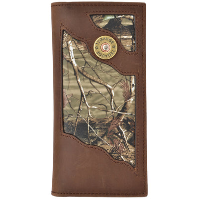 3D  BW532 Badger Brown Outdoor Rodeo Wallet