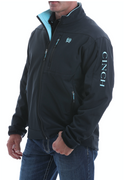 Cinch MWJ1077067 Men's Jacket Black w/Blue Cinch Logo Stitching CALL TO CHECK SIZE AVAILABILITY