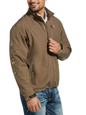 Ariat 10032931 MEN'S LOGO 2.0 SOFTSHELL JACKET MOREL CALL TO CHECK SIZE AVAILABILITY
