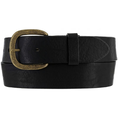Justin 232BK Black Work Basic Belt