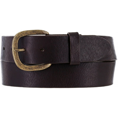 Justin 232BR Brown Work Basic Belt