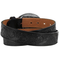 Justin 242BK Black Trophy Belt