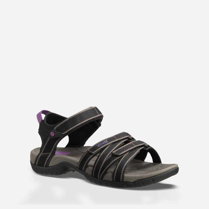 Women's Teva Sandals Tirra Black & Grey 4266 SALE *CLOSEOUT*