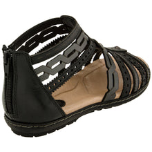 Earth Shoes Bay Black 601055WCLFMBK