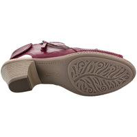 Earth Shoes Hydra Regal Red 601851WLEA-RGL *CLOSEOUT*
