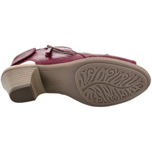 Earth Shoes Hydra Regal Red 601851WLEA-RGL
