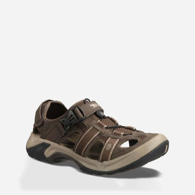 Men's Teva Shoes Omnium Turkish Coffee 6148 *CLOSEOUT*