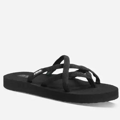 Women's Teva OLOWAHU MIX B BLACK ON BLACK 6840 *CLOSEOUT*