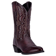 "Laredo 68458 12"" Black Cherry Birchwood R Toe"