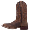 "Laredo 7835 11"" Brown Bullhide Wide Square Toe"