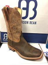 "Anderson Bean Rust Safari Giraffe 11"" Wide Square toe"
