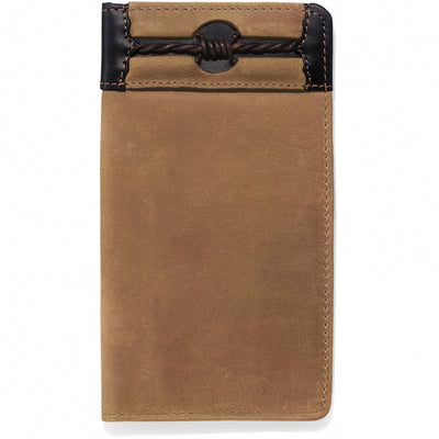 Silver Creek E80214 Fenced In Checkbook Wallet