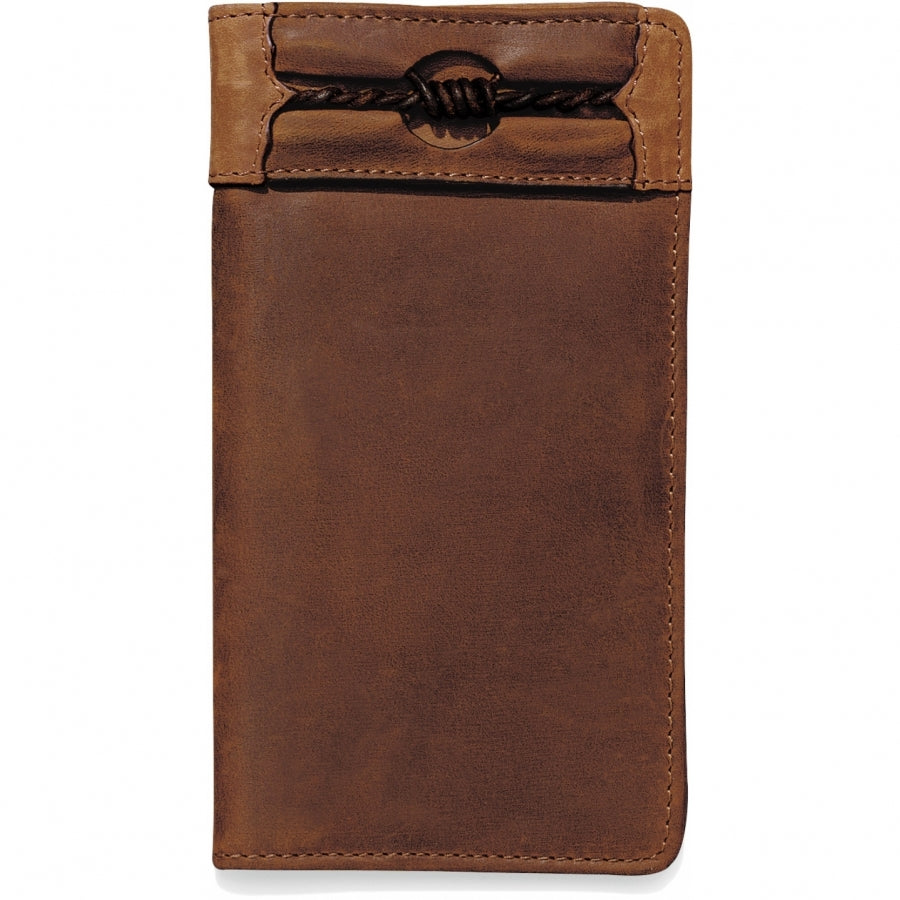 Silver Creek E80219 Fenced In Checkbook Wallet