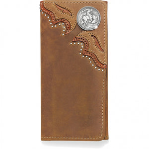 Silver Creek E80269 Tearin' Loose Tri-fold Checkbook Wallet