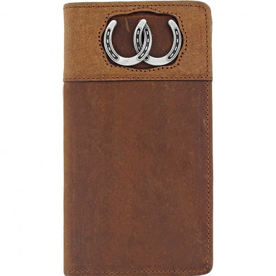 Silver Creek E80299 Double Luck Checkbook Wallet